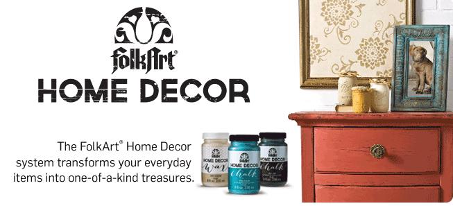 Home Decor Chalk & Wax